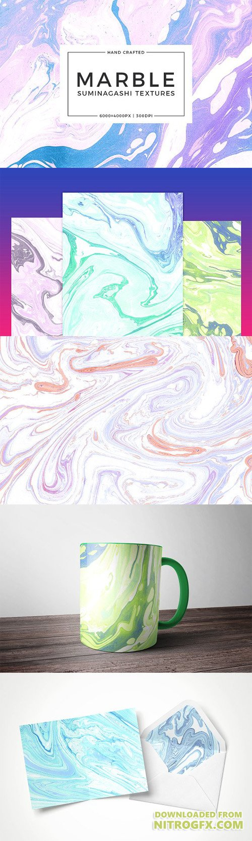 Marbling Paper Textures 1882247