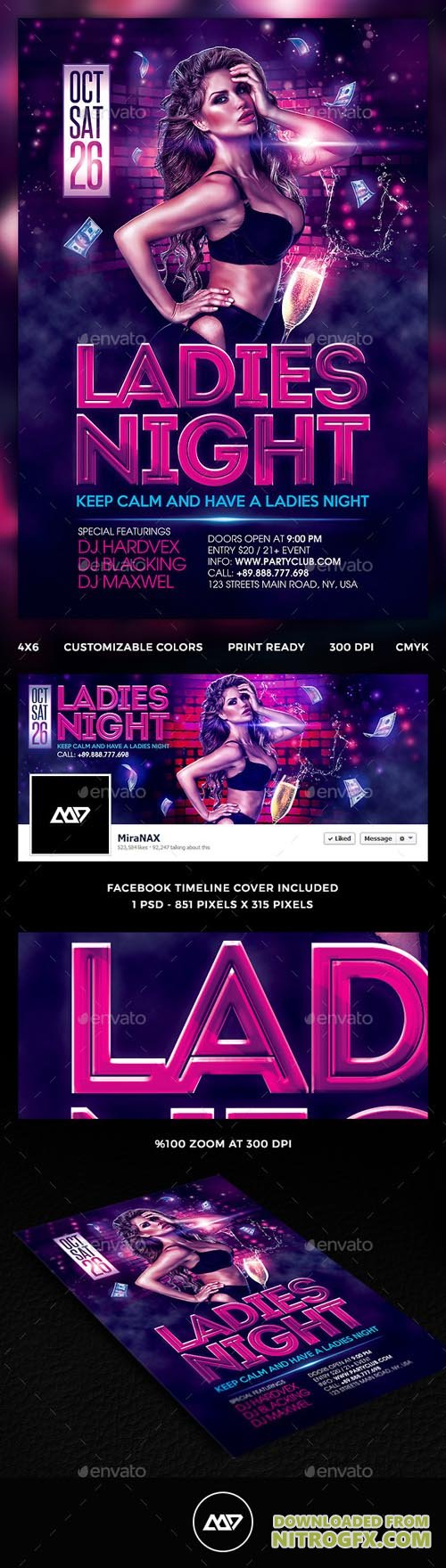 GR - Ladies Night Flyer 12922457
