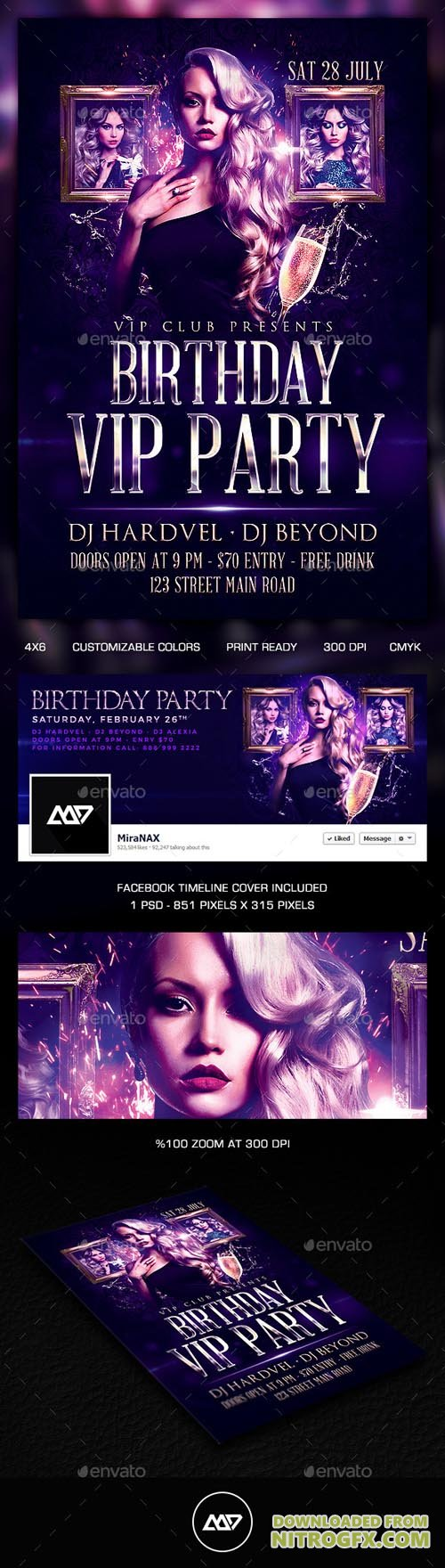 GR - Birthday Flyer 11226925
