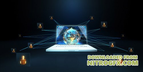 Network Earth - Project for After Effects (Videohive)