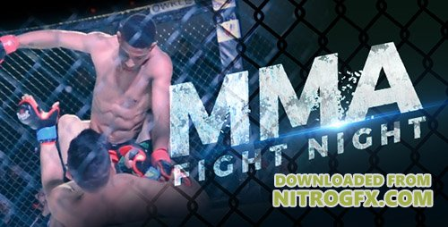 MMA Fight Night - Project for After Effects (Videohive)