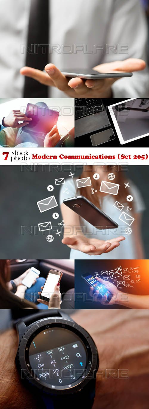 Photos - Modern Communications (Set 205)