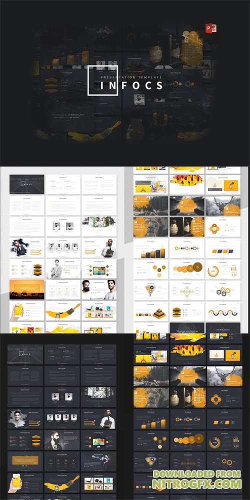 Infocs Powerpoint Template