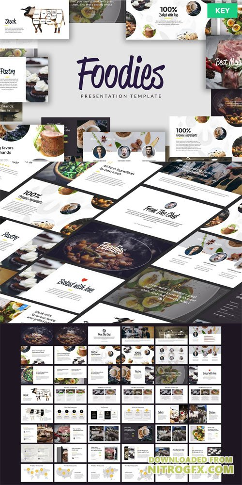 FOODIES - Culinary Keynote Template