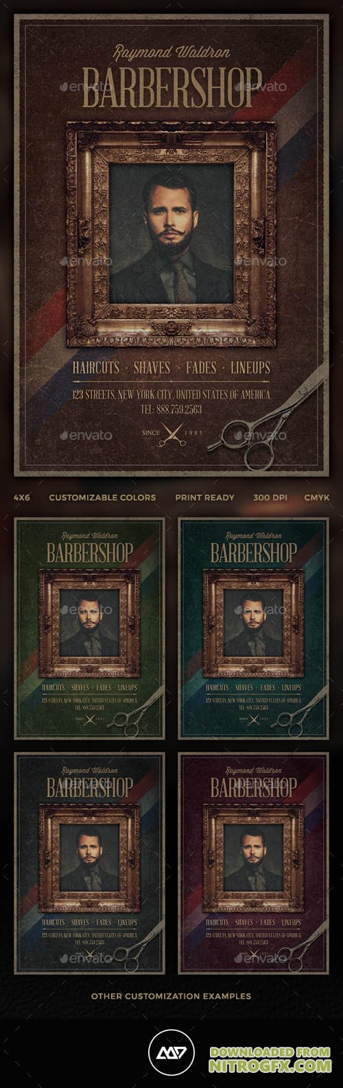 Barbershop Flyer 11459239