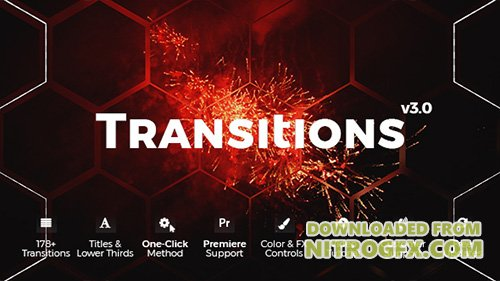 Transitions 20139771 - Project for After Effects (Videohive)
