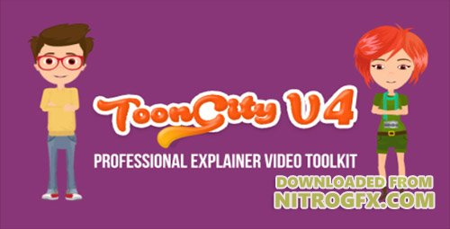 Explainer Video Toolkit | Toon City 4 - Project for After Effects (Videohive)