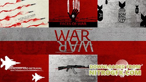 War Titles Sequence - Project for After Effects (Videohive)