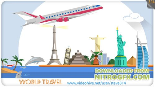 World Travel - Project for After Effects (Videohive)