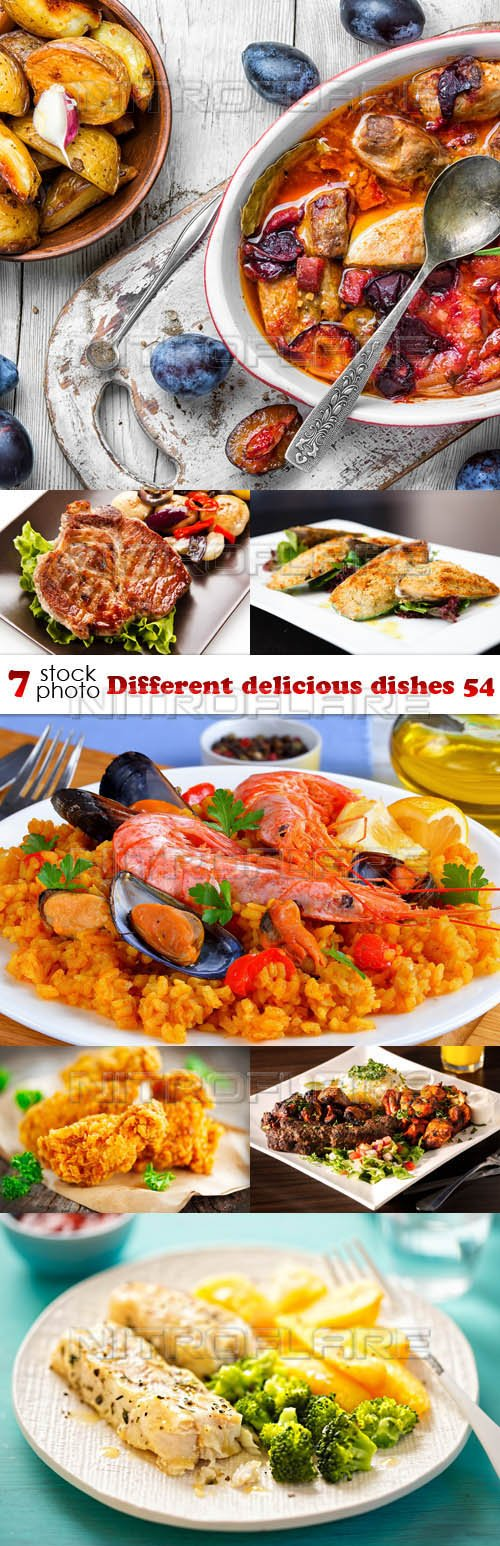 Photos - Different delicious dishes 54