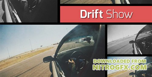 Drift Show - Dynamic Opener - Project for After Effects (Videohive)