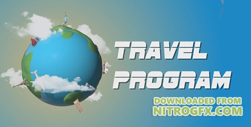 Travel Program Broadcast - Project for After Effects (Videohive)