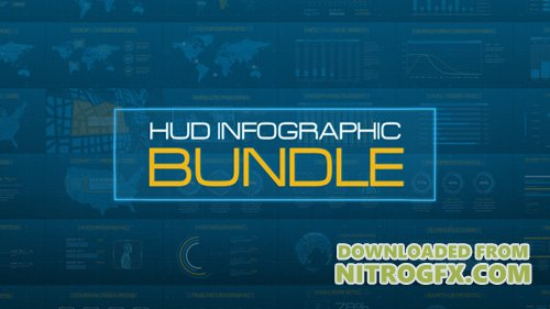 HUD Infographic Bundle - Project for After Effects (Videohive)