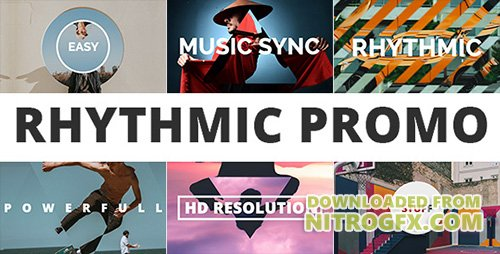 Rhythmic Promo 20547056 - Project for After Effects (Videohive)