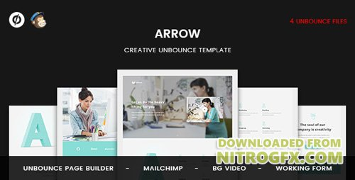 ThemeForest - Arrow v1.0 - Creative Unbounce Landing Page - 20377119