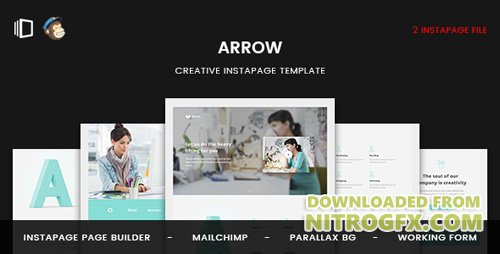 ThemeForest - Arrow v1.0 - Instapage Landing Page - 20495554