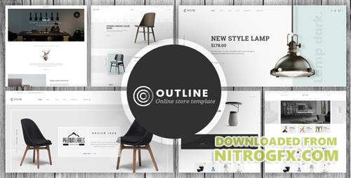 ThemeForest - Outline v1.0 - Responsive Furniture Opencart 3.x Theme - 20724317