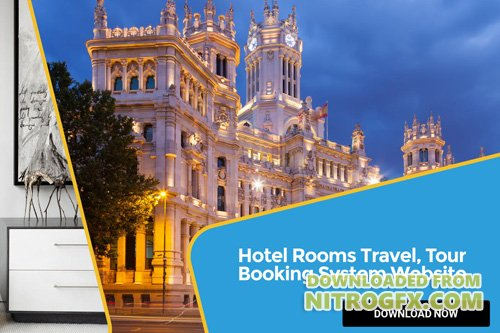 Hotel Rooms Travel, Tour Booking System Website