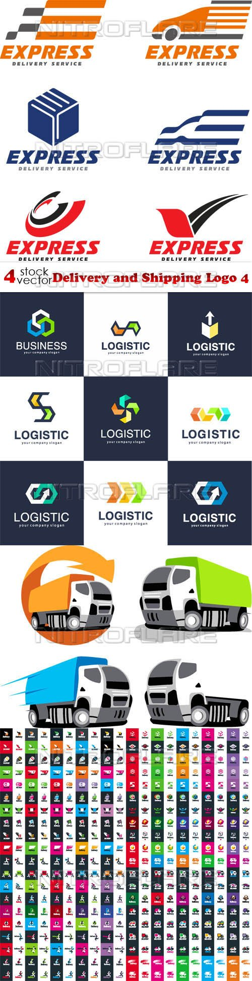 Vectors - Delivery and Shipping Logo 4