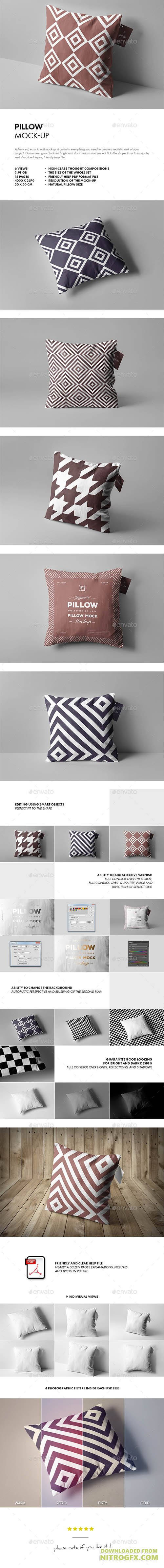 Pillow Mock-up 20811428