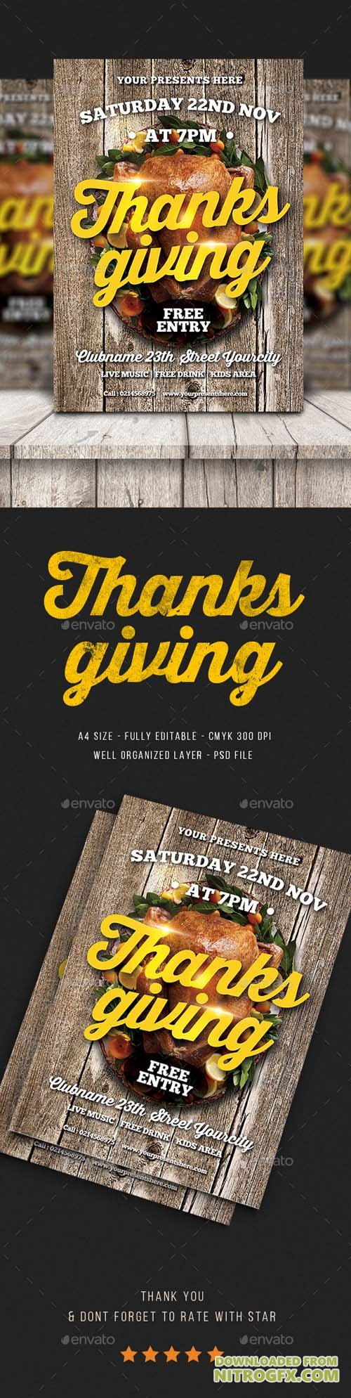 Thanksgiving Flyer 20807496