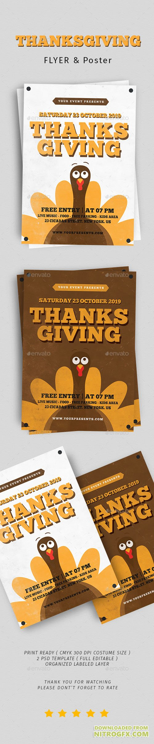Thanksgiving Flyer Vol. 5 20811739