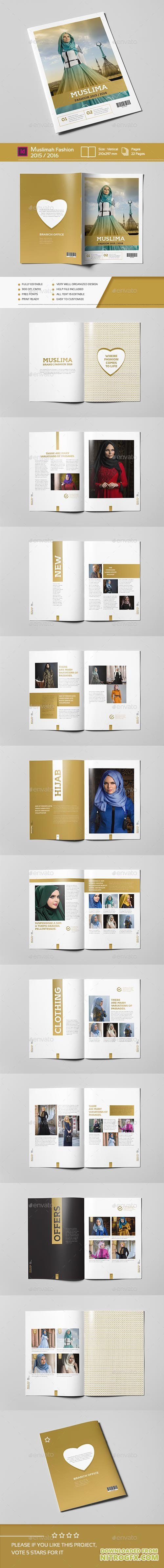 Muslimah Fashion 22 Pages A4 14031552