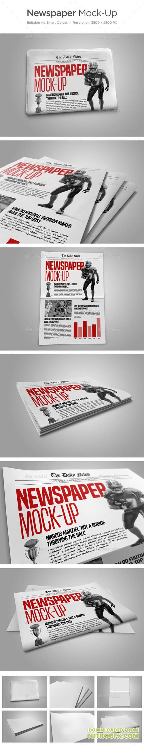 Newspaper Mock-Up 12871377