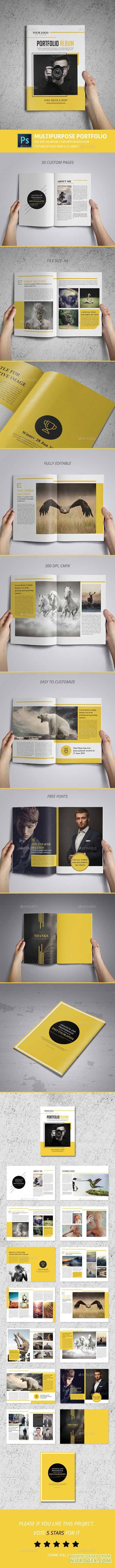 Multipurpose Portfolio Template 11942871