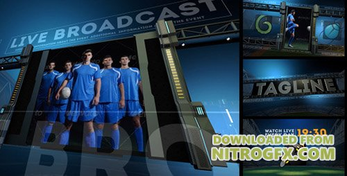 Sports Arena Promo Package - Project for After Effects (Videohive)