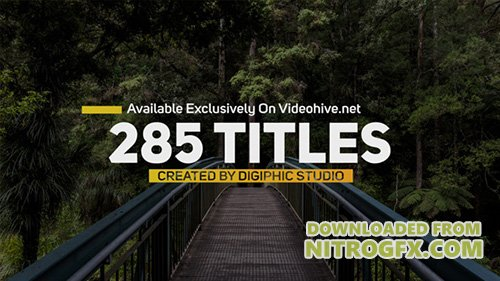 Titles Animation 20675116 - Project for After Effects (Videohive)