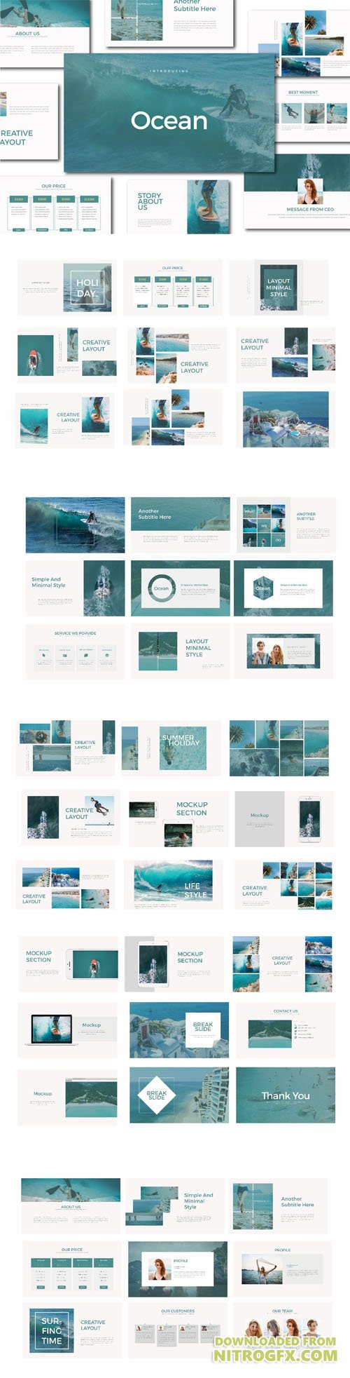 Ocean Multipurpose PPT