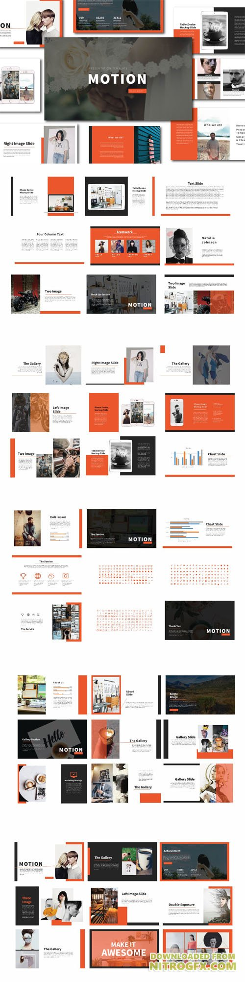Motion Powerpoint Template