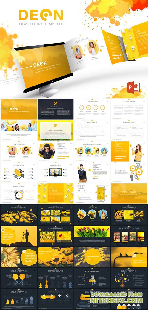 Deon Powerpoint Template