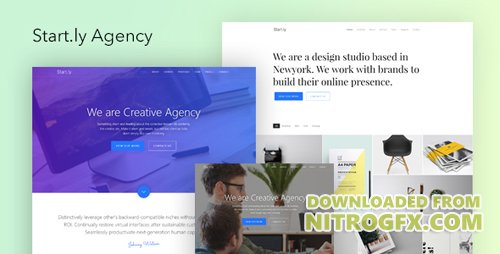 ThemeForest - Start.ly v1.0 - Agency One Page Parallax Website Template - 20386184