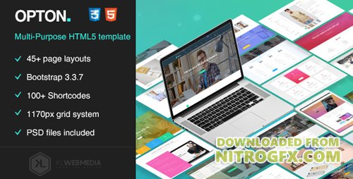 ThemeForest - Opton - Multi-Purpose HTML5 Template (Update: 22 September 17) - 20109747