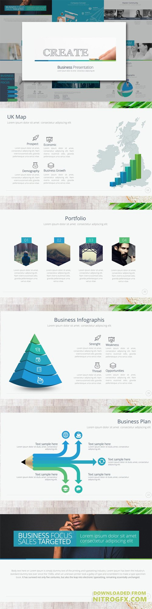 CREATE Business Powerpoint