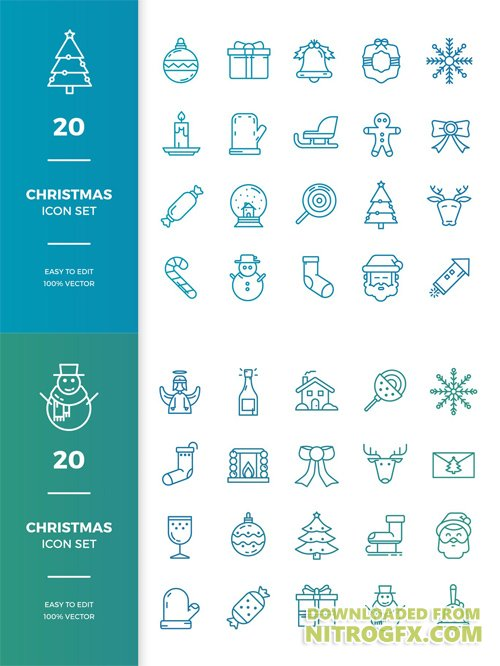 Christmas Icons Collection
