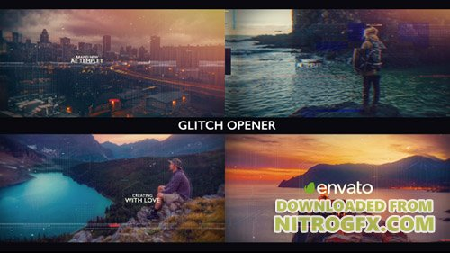 Glitch Opener 20314010 - Project for After Effects (Videohive)
