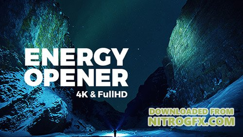 Energy Opener - Project for After Effects (Videohive)