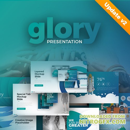 Glory Presentation - Business Pack Powerpoint Template 20261194
