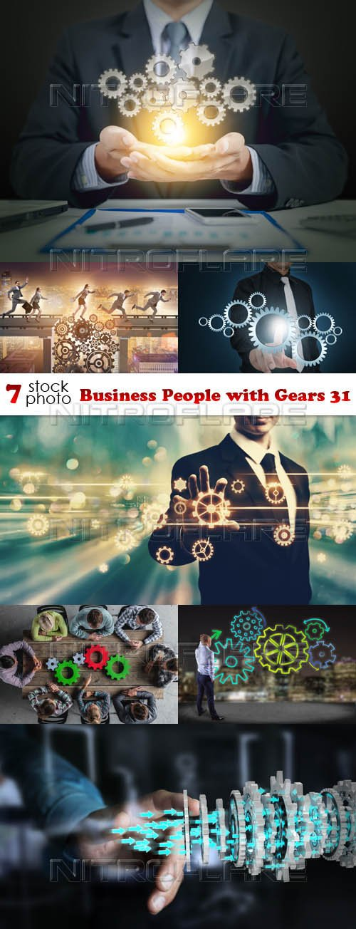 Photos - Business People with Gears 31
