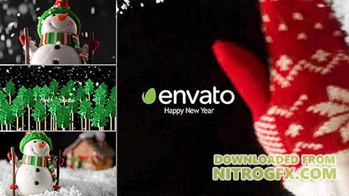 New Year Card 18537332 - Project for After Effects (Videohive)