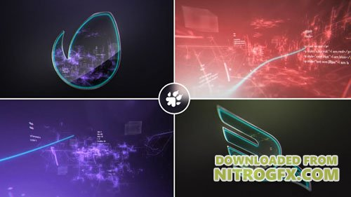 Digital Vortex Logo - Project for After Effects (Videohive)