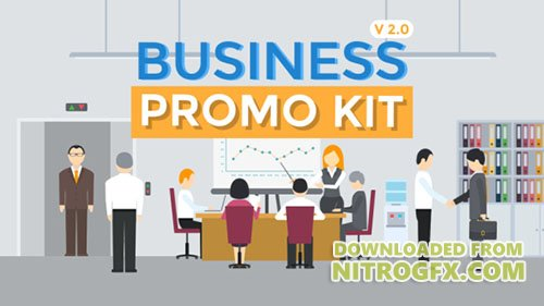 Business Promo Kit - Project for After Effects (Videohive)