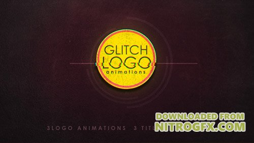 Glitch logo 19910641 - Project for After Effects (Videohive)