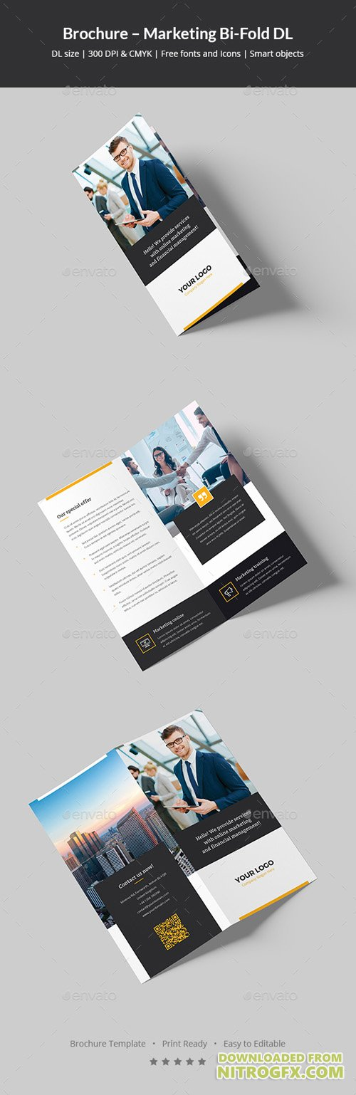 Brochure – Marketing Bi-Fold DL 20857939