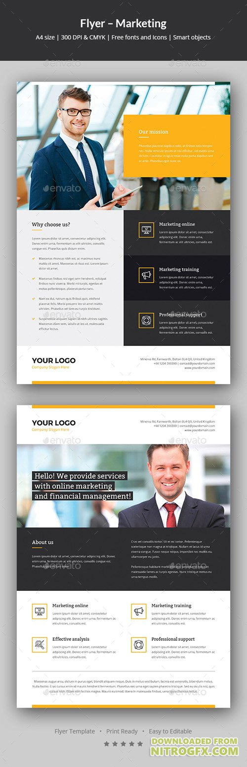 Flyer – Marketing 20861353