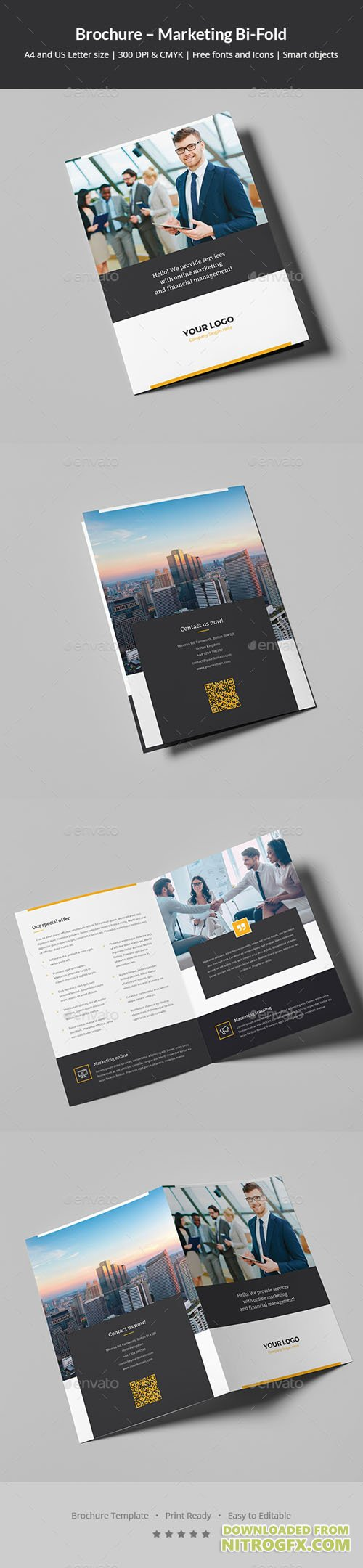 Brochure – Marketing Bi-Fold 20857839
