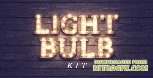 Light Bulb Kit - Project for After Effects (Videohive)